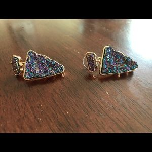 BaubleBar Multicolor Stone Earrings
